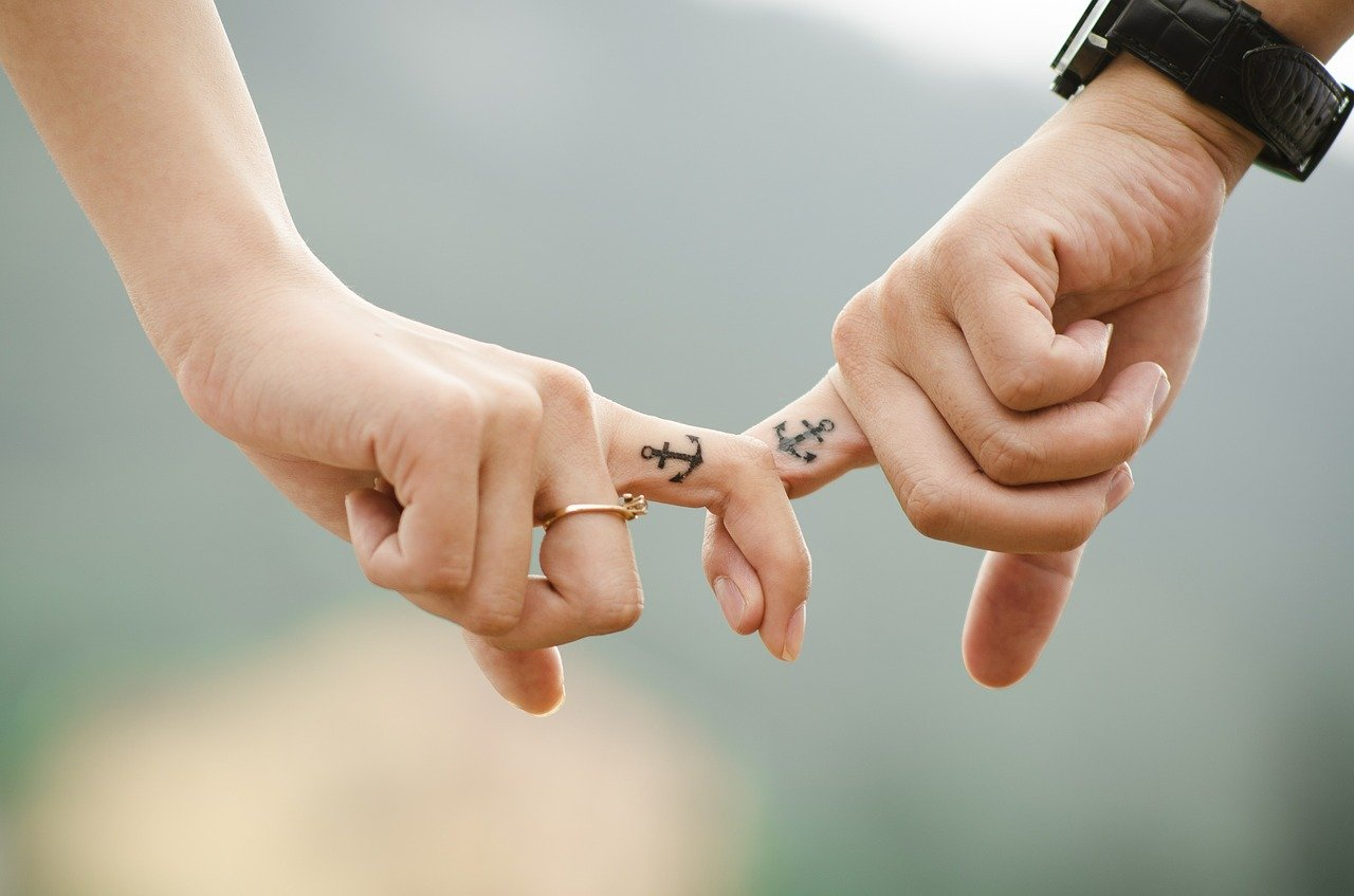 hands, love, couple